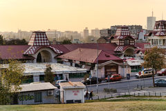 Οδοί Βελιγραδι'ου στοκ εικόνες