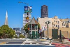 Οδοί Καλιφόρνιας και Powell Στοκ Εικόνες