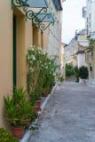 Οδοί πόλεων Nafplio στοκ φωτογραφίες με δικαίωμα ελεύθερης χρήσης