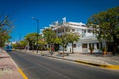 Οδοί σε Santa Marta, καραϊβική πόλη, Κολομβία Στοκ Φωτογραφίες
