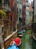 Οδοί της Βενετίας Στοκ φωτογραφίες με δικαίωμα ελεύθερης χρήσης