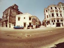 Οδοί της παλαιάς Αβάνας Κούβα Στοκ φωτογραφία με δικαίωμα ελεύθερης χρήσης