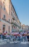 Οδοί της Ρώμης Στοκ φωτογραφία με δικαίωμα ελεύθερης χρήσης