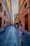 Οδοί της Ρώμης Στοκ εικόνα με δικαίωμα ελεύθερης χρήσης