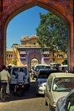οδοί του Δελχί Στοκ Εικόνες