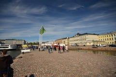 Οδοί του Ελσίνκι, Φινλανδία Στοκ Φωτογραφία