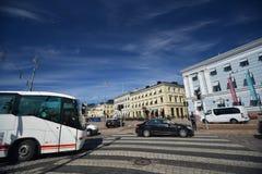 Οδοί του Ελσίνκι, Φινλανδία Στοκ φωτογραφίες με δικαίωμα ελεύθερης χρήσης