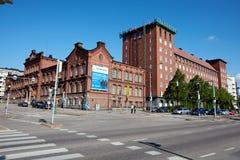 Οδοί του Ελσίνκι Στοκ Εικόνες