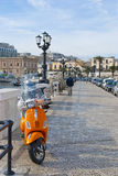 Οδοί του Μπάρι, Ιταλία Στοκ φωτογραφία με δικαίωμα ελεύθερης χρήσης