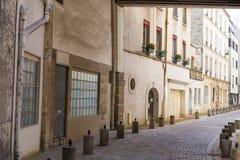 Οδοί του Παρισιού, Γαλλία Στοκ Φωτογραφία