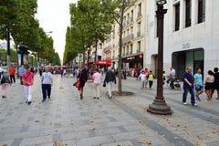 Οδοί του Παρισιού Στοκ Εικόνες