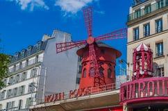 Οδοί του Παρισιού Στοκ φωτογραφίες με δικαίωμα ελεύθερης χρήσης