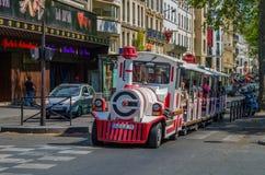Οδοί του Παρισιού Στοκ εικόνες με δικαίωμα ελεύθερης χρήσης