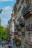 Οδοί του Παρισιού Στοκ Φωτογραφίες