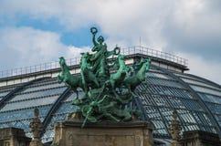 Οδοί του Παρισιού Στοκ φωτογραφία με δικαίωμα ελεύθερης χρήσης