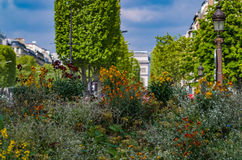 Οδοί του Παρισιού Στοκ Φωτογραφία