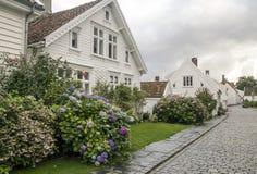 Οδοί του Stavanger στοκ εικόνες