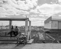 Οδοί Antananarivo στοκ φωτογραφίες