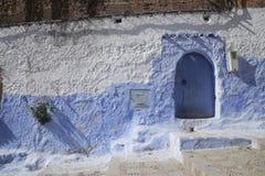 Οδοί Chefchaouen Μαρόκο Στοκ Εικόνες