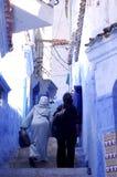 Οδοί Chefchaouen στοκ φωτογραφία