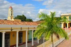 Οδοί Cobbled inTrinidad στην Κούβα Στοκ Εικόνες