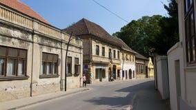 Οδοί Karlovci Sremski Στοκ εικόνα με δικαίωμα ελεύθερης χρήσης