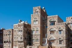 Οδοί Sanaa, Υεμένη Στοκ φωτογραφία με δικαίωμα ελεύθερης χρήσης