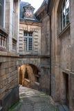 Οδοί Sarlat, μεσαιωνική πόλη, Dordogne, Aquitaine, Γαλλία Στοκ φωτογραφίες με δικαίωμα ελεύθερης χρήσης