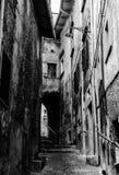 Οδοί Scanno, Ιταλία Στοκ Φωτογραφία
