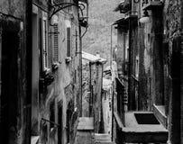 Οδοί Scanno, Ιταλία Στοκ Εικόνες