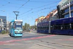 Οδοί WROCLAW στην ΠΟΛΩΝΊΑ - 12 09 2016 Στοκ Εικόνες