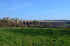 Οδογέφυρα κοιλάδων Ouse. Στοκ εικόνα με δικαίωμα ελεύθερης χρήσης
