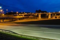 Οδογέφυρα σε Vilnius, Lazdynai Στοκ Εικόνα