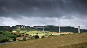 Οδογέφυρα Millau στοκ εικόνα με δικαίωμα ελεύθερης χρήσης