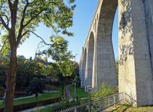Οδογέφυρα Willingen (Sauerland/Γερμανία) Στοκ Εικόνα