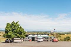 Ο οδικός στάβλος αλόης κοντά σε Colenso σε kwazulu-γενέθλιο στοκ φωτογραφία με δικαίωμα ελεύθερης χρήσης