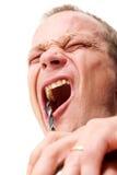 ο οδοντίατρος γίνεται Στοκ Φωτογραφία