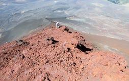 Οδοιπορία ηφαιστείων στη Χιλή στοκ εικόνα με δικαίωμα ελεύθερης χρήσης