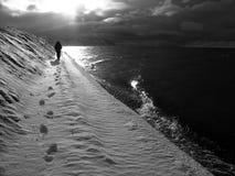 Οδοιπορία παγετώνων στοκ εικόνες