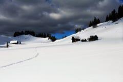 Οδοιπορία σκι Στοκ εικόνα με δικαίωμα ελεύθερης χρήσης