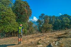 Οδοιπορία στο Νεπάλ Στοκ φωτογραφίες με δικαίωμα ελεύθερης χρήσης