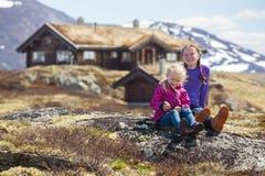 Οδοιπόρος κοριτσιών σε Tyin Στοκ εικόνες με δικαίωμα ελεύθερης χρήσης