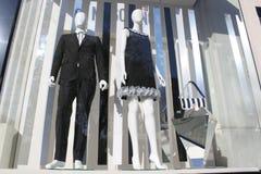 Ολοκαίνουργιο κατάστημα ενδυμάτων Στοκ εικόνες με δικαίωμα ελεύθερης χρήσης