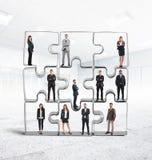 Ολοκλήρωση ομάδων συνεργατών στοκ φωτογραφία με δικαίωμα ελεύθερης χρήσης