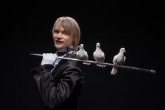 Ολοκληρωμένη κυριότητα του μάγου Στοκ εικόνα με δικαίωμα ελεύθερης χρήσης