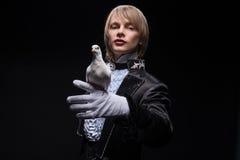 Ολοκληρωμένη κυριότητα του μάγου Στοκ εικόνες με δικαίωμα ελεύθερης χρήσης
