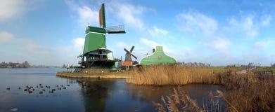 ο ολλανδικός μύλος είδε χαρακτηριστικό Στοκ εικόνα με δικαίωμα ελεύθερης χρήσης