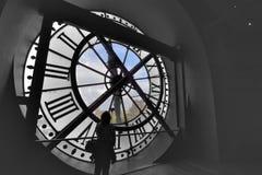 Ο ομορφότερος σταθμός τρένου Musee d'Orsay, το Musée d'Orsay Musee τα d'Orsay επίσης μεταφρασμένα γαλλικά: Musee d'Orsay Στοκ φωτογραφία με δικαίωμα ελεύθερης χρήσης