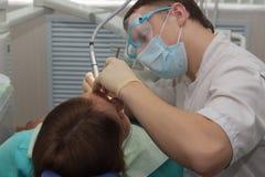Οδοντίατρος Στοκ εικόνα με δικαίωμα ελεύθερης χρήσης