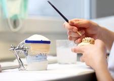 Οδοντικά αντικείμενα οδοντιάτρων Στοκ Φωτογραφία